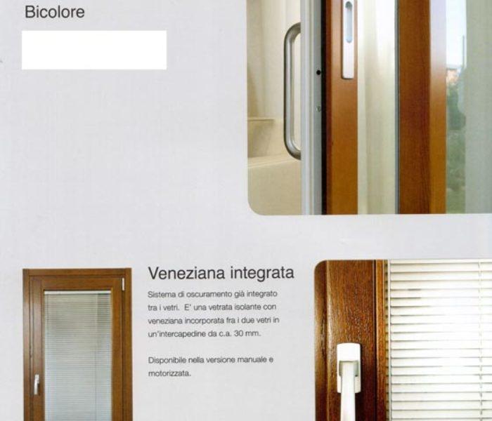 Serramenti in legno o legno alluminio bicolore mdb portas nurith - Finestra con veneziana integrata ...