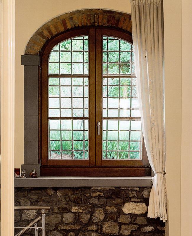 Serramenti in legno e legno alluminio mdb portas milano - Finestre ad arco prezzi ...
