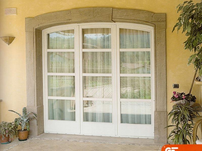 Serramenti in legno e legno alluminio mdb portas milano for Finestre pvc bianche