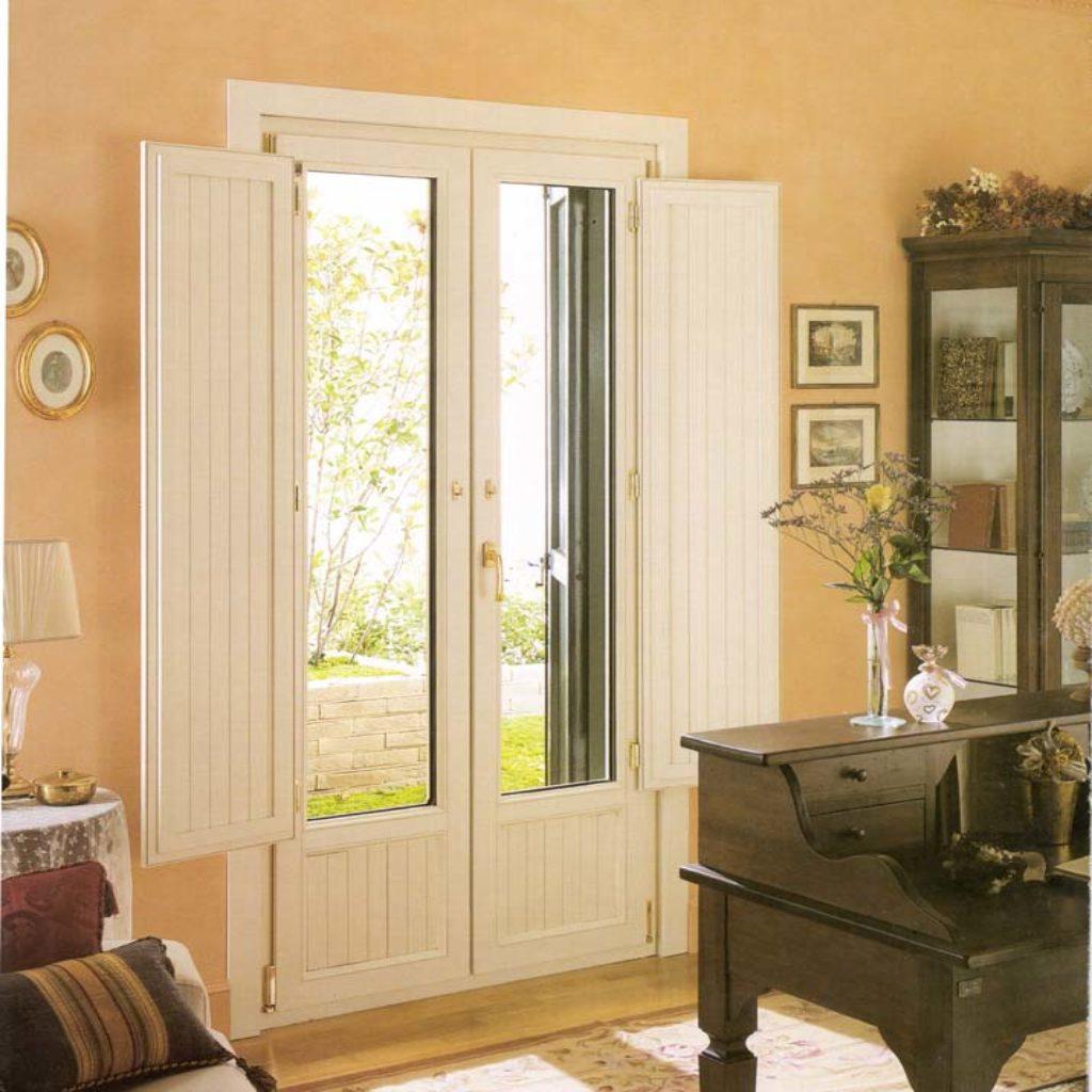 Porta finestra in pvc vecchia milano mdb portas nurith milano - Finestre liberty ...