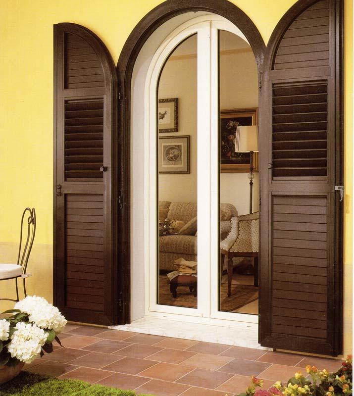 Installazione serramenti in pvc bicolore a milano centro mdb portas nurith - Porte finestre milano ...