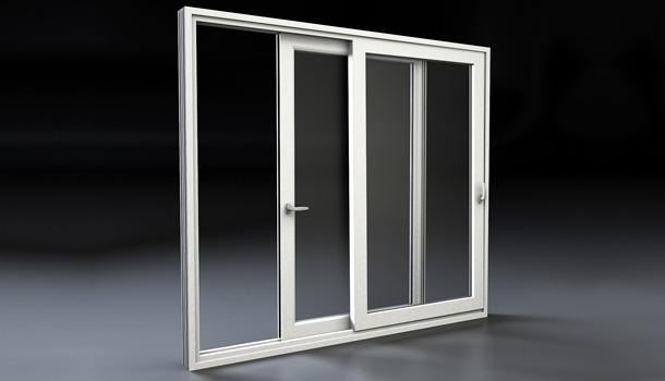 Porta finestra in pvc scorrevole parallelo mdb nurith portas - Porta finestra o portafinestra ...