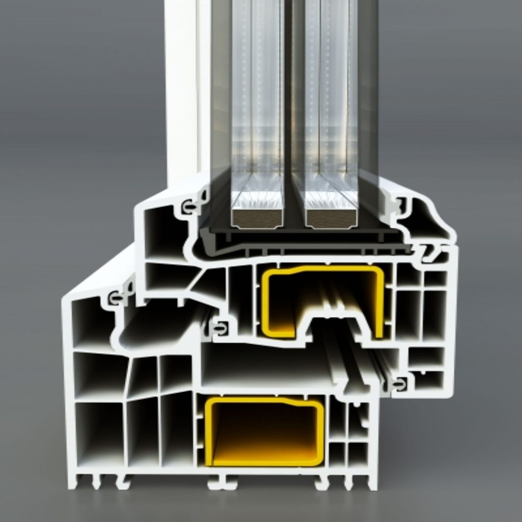 Serramento in pvc triplo vetro a risparmio energetico a melzo - Finestre triplo vetro ...