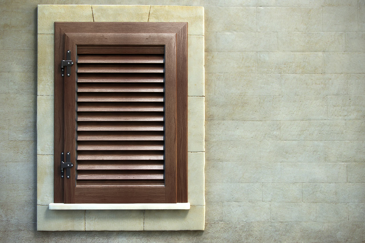 Persiana con telaio alluminio effetto legno mdb portas nurith for Mdb portas nurith
