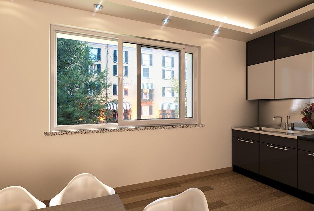 Posa finestre scorrevoli e a battente in pvc sesto san - Finestre scorrevoli elettriche ...