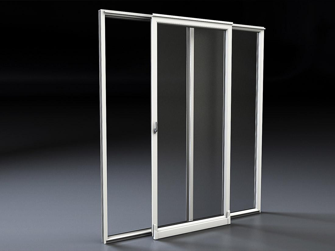 Costo porta finestra scorrevole elegant zanzariere per - Zanzariere per porta finestra prezzi ...