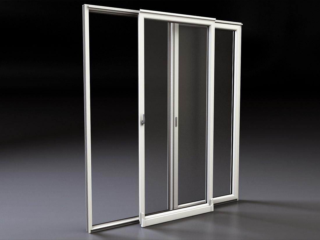 Porta finestra scorrevole traslante mdb nurith portas - Tipi di porta ...