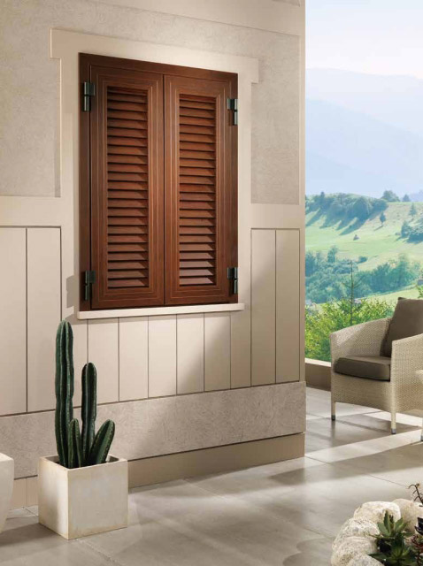 Grata con persiana COMBI per finestra