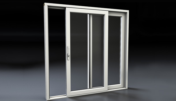 Porte finestre finestra in pvc persiana blindata e kit - Costo porta finestra pvc ...