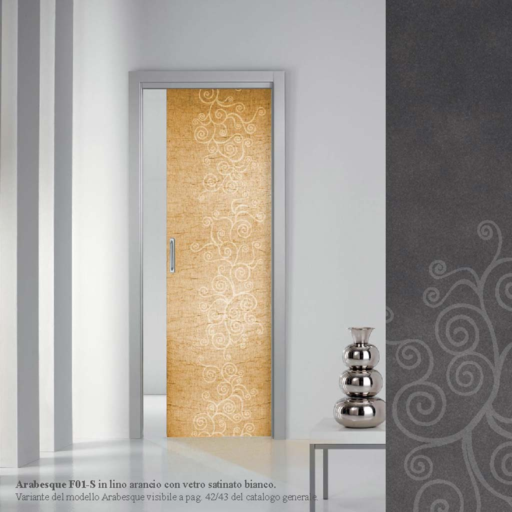 Porte interne in legno in vetro scorrevoli a milano monza mdb portas nurith - Vetro porta interna ...