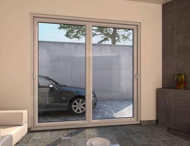 Porta finestra scorrevole traslante mdb nurith portas for Porta finestra pvc