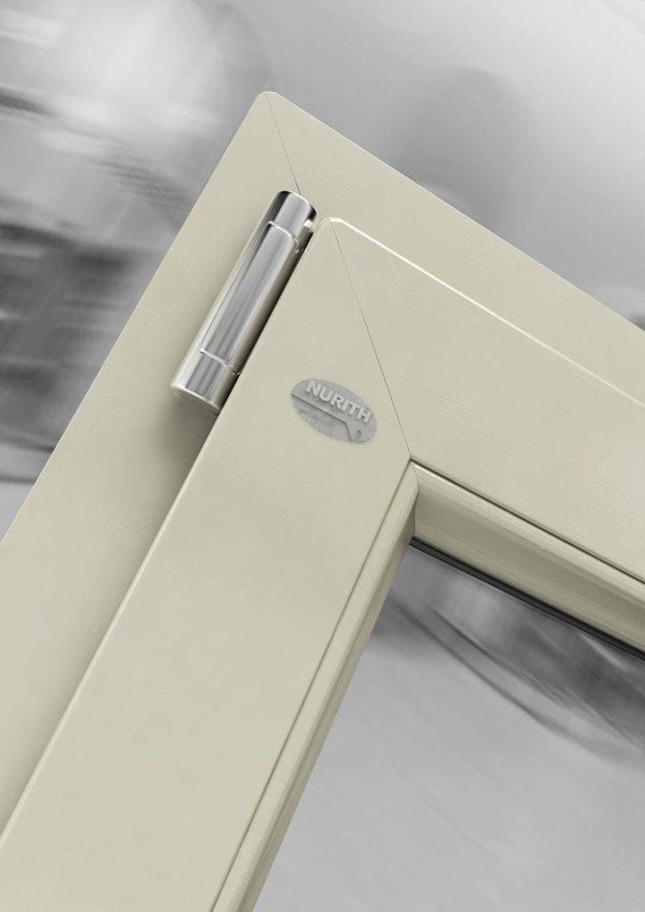 Elegant m colore bianco sabbia linea basic with infissi in - Serramenti e finestre opinioni ...