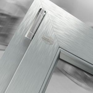 D69 effetto alluminio spazzolato - linea Domus