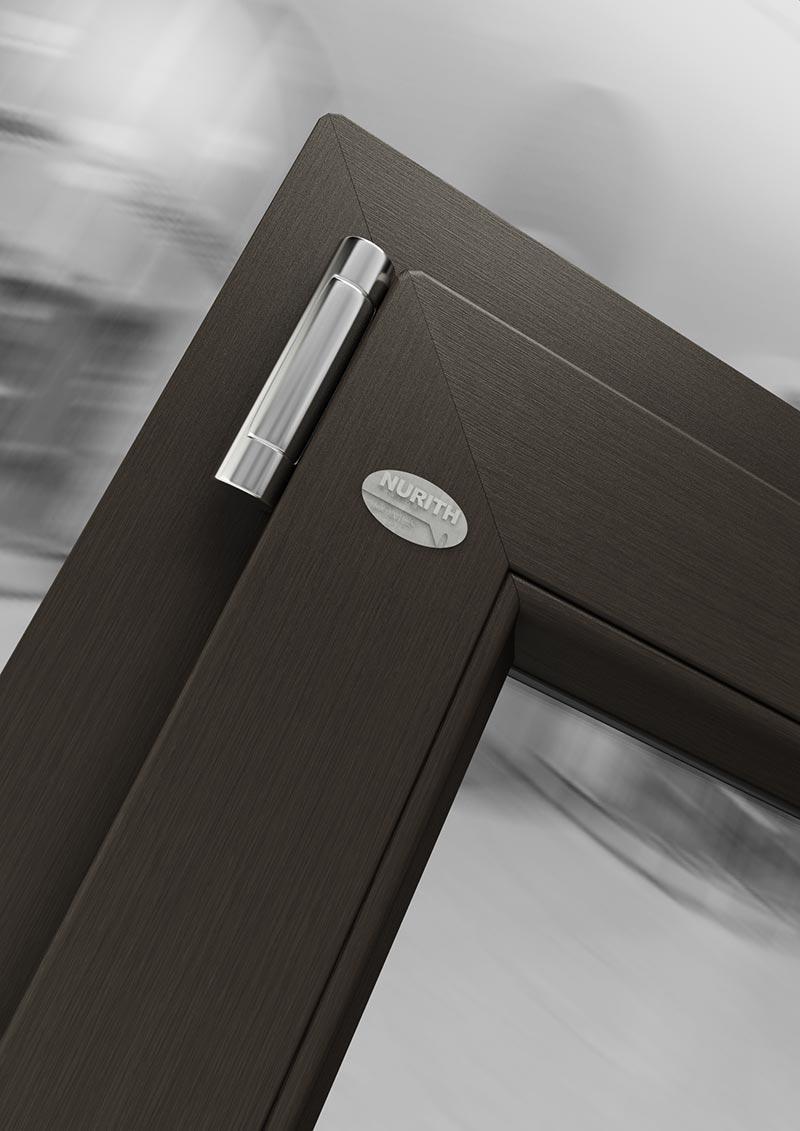 D71 colore marrone classico - linea Domus